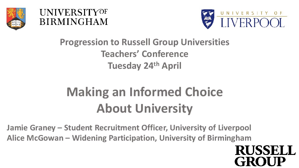 Preview 2 leeds making an informed choice